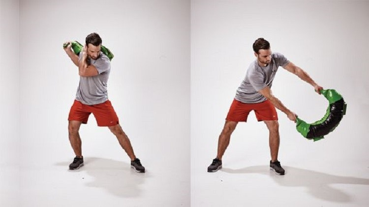 Lateral swing