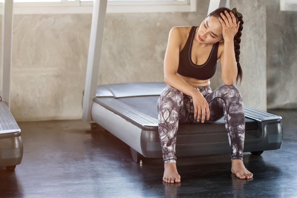 chóng mặt khi tập thể dục