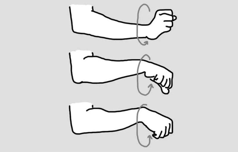 khởi động tập cơ ngực