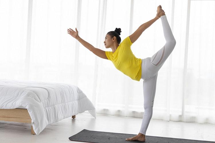 lợi ích của yoga tư thế vũ công