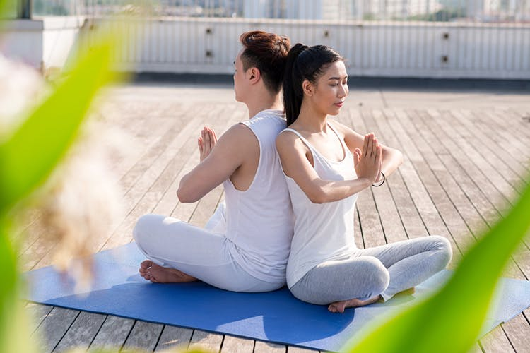yoga đôi