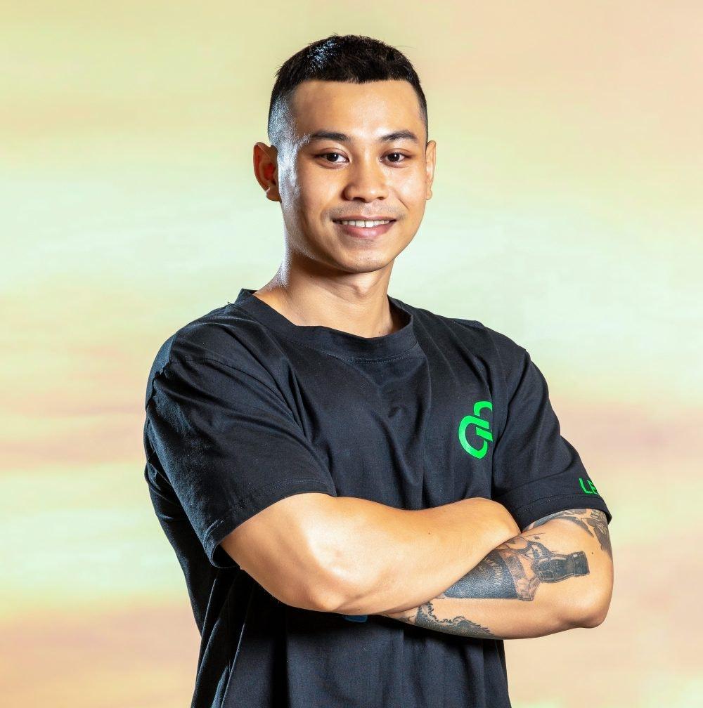 Huấn luyện viên thể hình Huy Da Beo