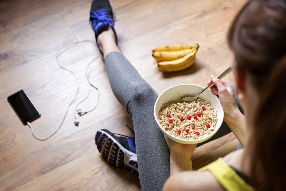ăn sau tập gym