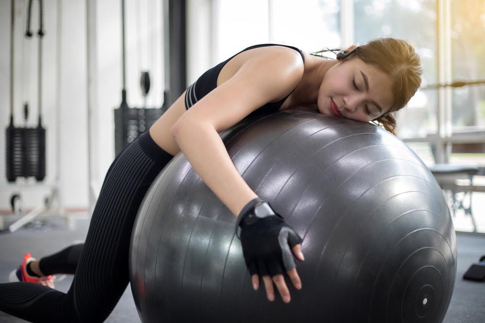 nghỉ ngơi khi tập gym